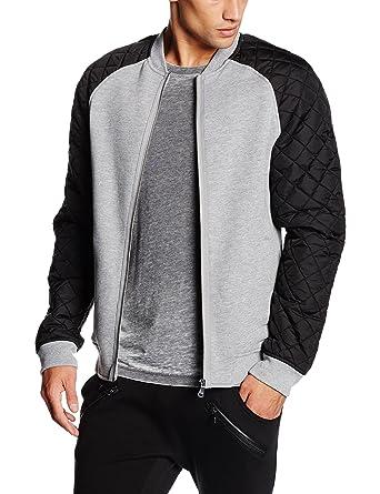 Urban Classics Diamond Nylon Sweatjacket Streetwear Giacca