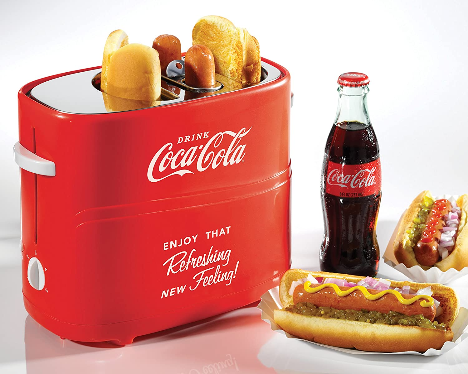 Nostalgia COKE Coca-Cola  Hot Dog Toaster
