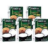 Aroy-D - Kokosmilch - 5er Pack (5 x 250ml)