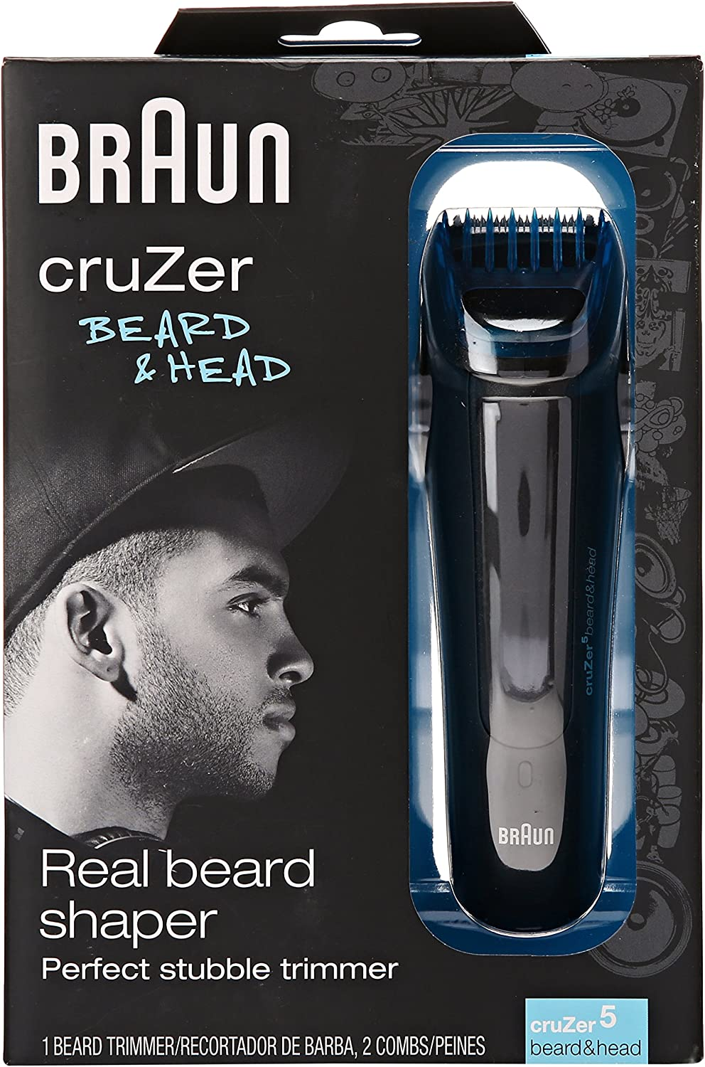 Braun Cruzer 5 Beard Trimmer, Beard and Head: Amazon.es: Salud y ...