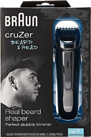 Braun Cruzer 5 Beard Trimmer, Beard and Head: Amazon.es: Salud y ...