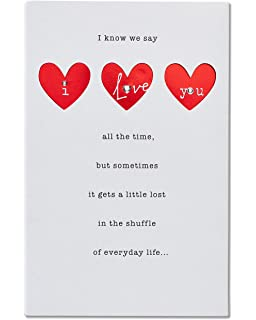 amazon com hallmark anniversary greeting card to husband man i