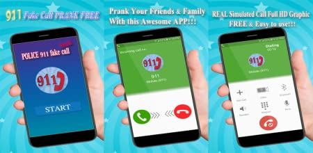 Amazon com: POLICE 911 fake call (PRANK): Appstore for Android