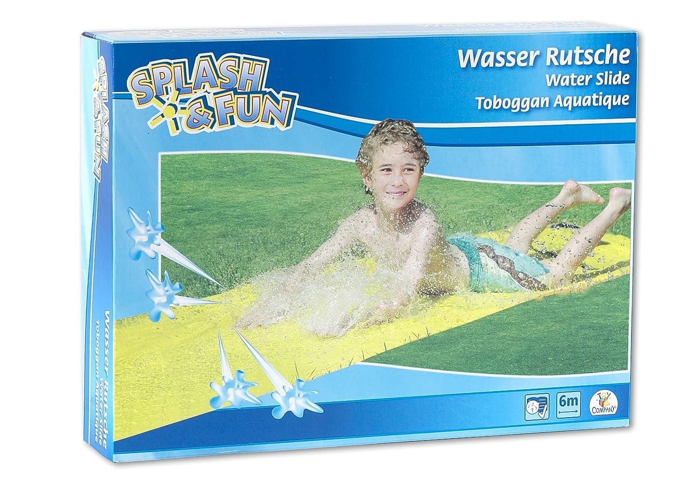 Splash & Fun Wasserrutsche, gelb, ca. 600 x 80 cm The Toy Company 18484