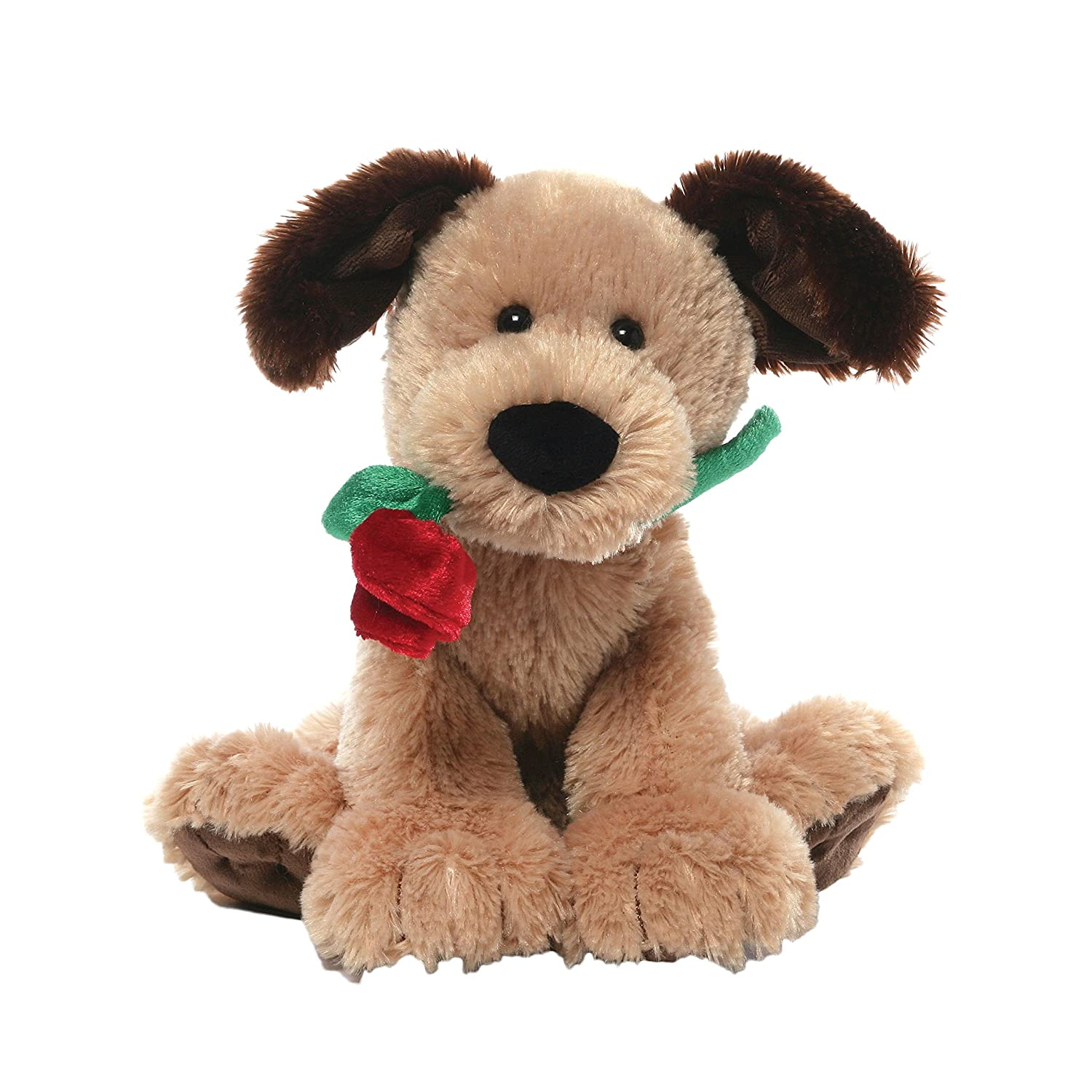 amazoncom gund deangelo valentines day dog stuffed animal plush toys games - Valentines Animals