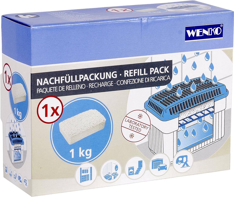 deumidificatore ricariche 3 x 1 kg Wenko