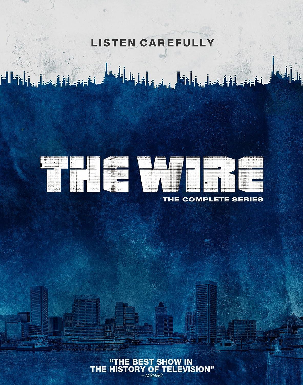 The Wire - Complete Season 1-5 Blu-ray Region Free: Amazon co uk