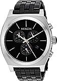 Nixon Men's 'Time Teller Chrono' Quartz Stainless Steel Casual Watch, Color:Black (Model: A9722541-00)