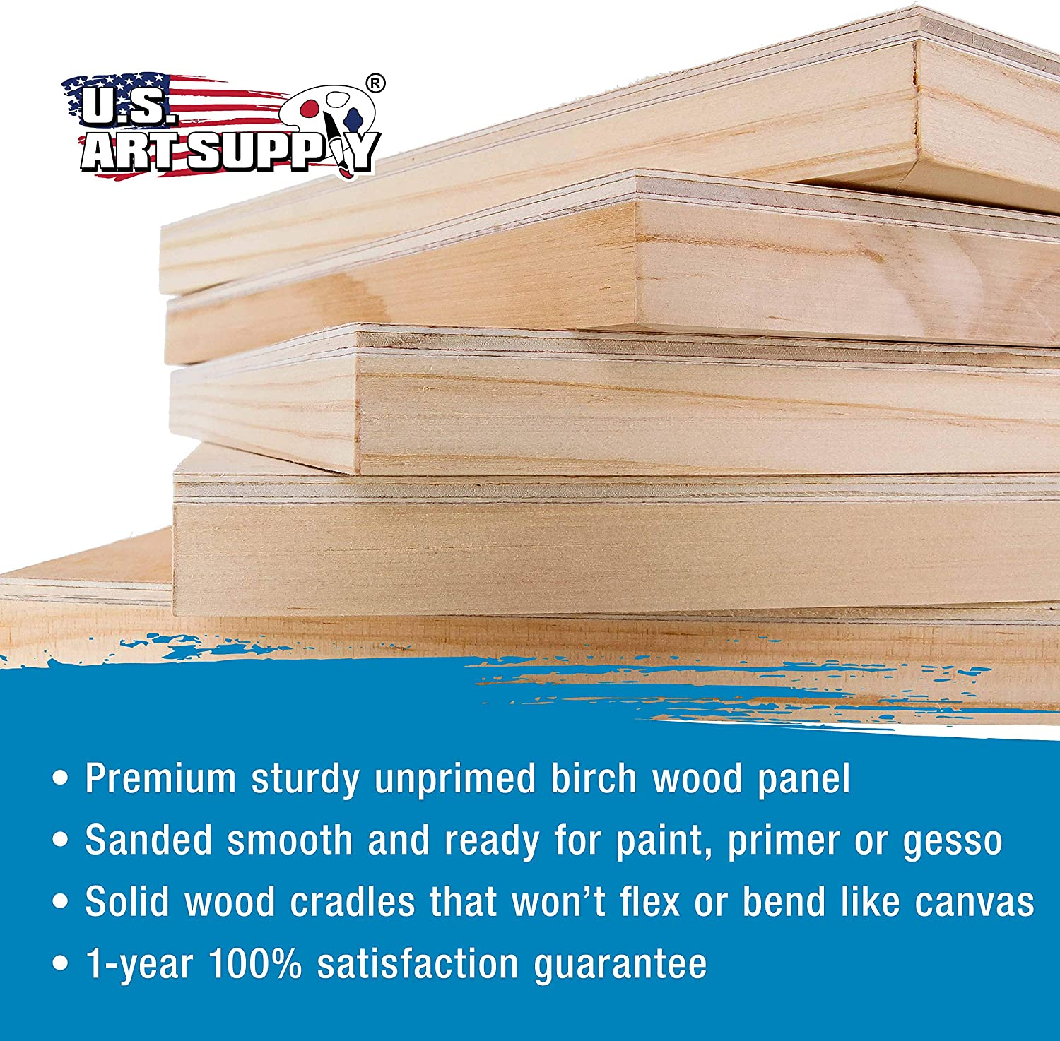 Amazon Com U S Art Supply 6 X 6 Birch Wood Paint Pouring Panel Boards Studio 3 4 Deep Cradle Pack Of 5 Artist Wooden Wall Canvases Painting Mixed Media Craft Acrylic Oil Watercolor,One Bedroom Apartments In Brooklyn Ny