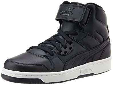 Puma Men's Rebound Street L Trainers, Black (Black/Black), ...
