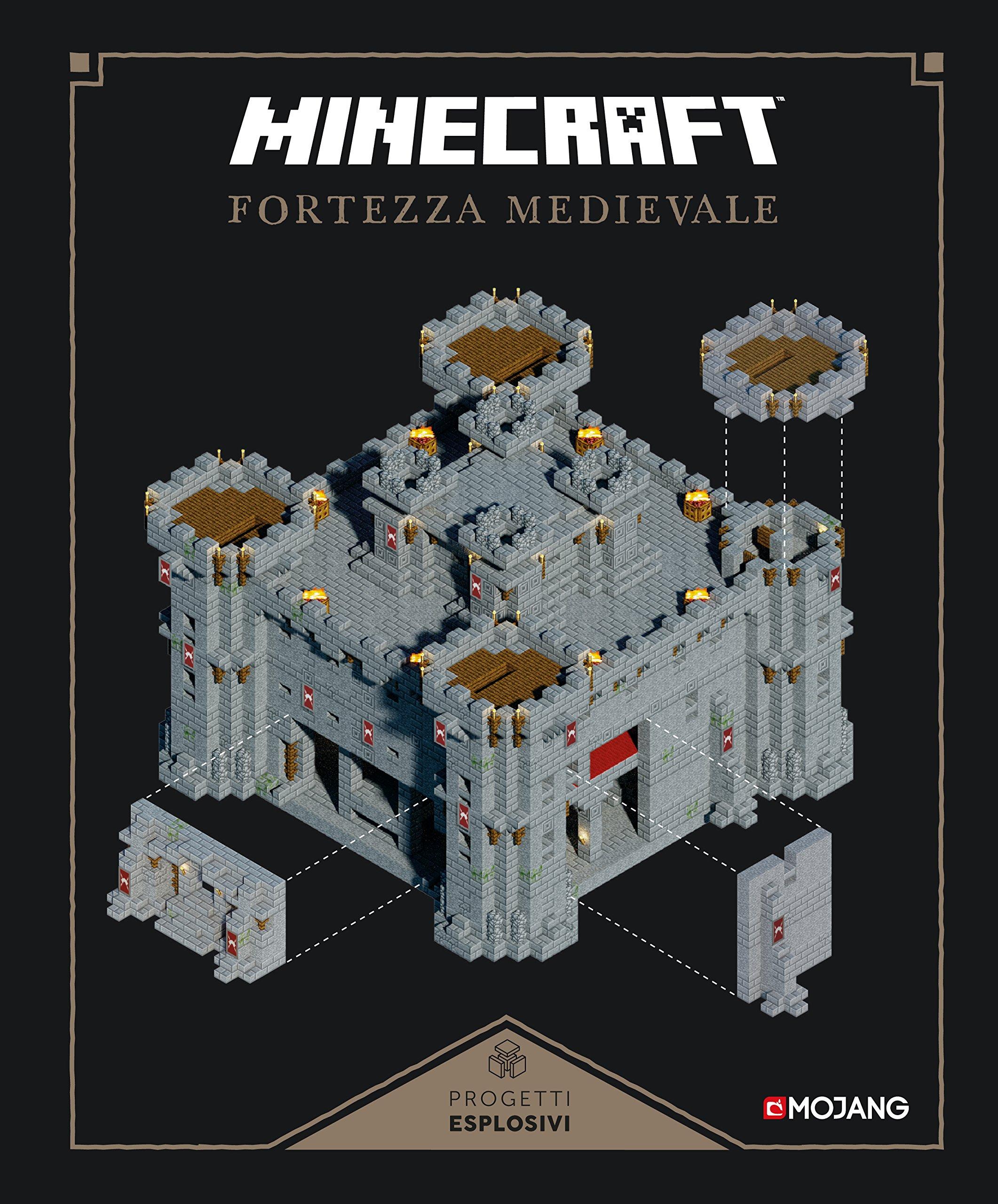 Minecraft. Fortezza medievale Copertina rigida – 18 ott 2016 C. Crudele Mondadori 8804672250 Altra non illustrata