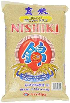 Nishiki 15-Pounds Premium Brown Rice