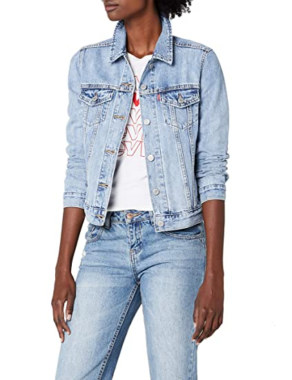 19f3882e7c7 Levi's Women's Original Trucker Denim Jacket, Blue (All Yours 0026), ...