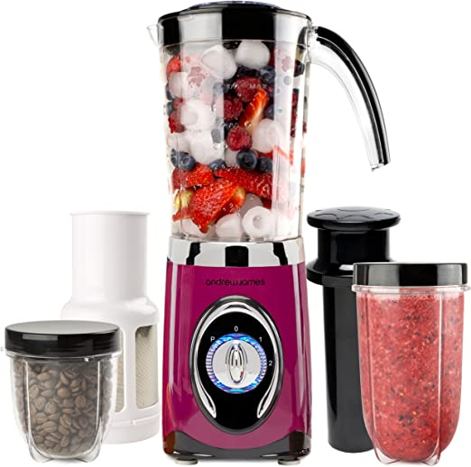 Andrew James – Licuadora Smoothie Maker multifuncional 4 en 1 ...