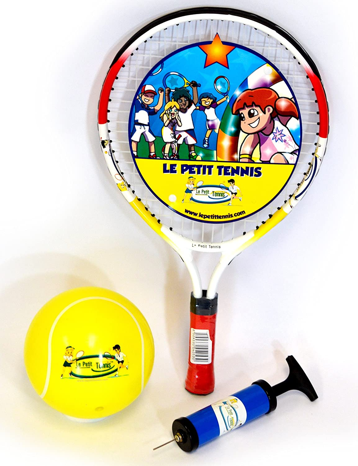 Le Petit Tennis Racquet 17 Inches + TENNIS BALL (Ages 2-3-4) LPT-17+B01