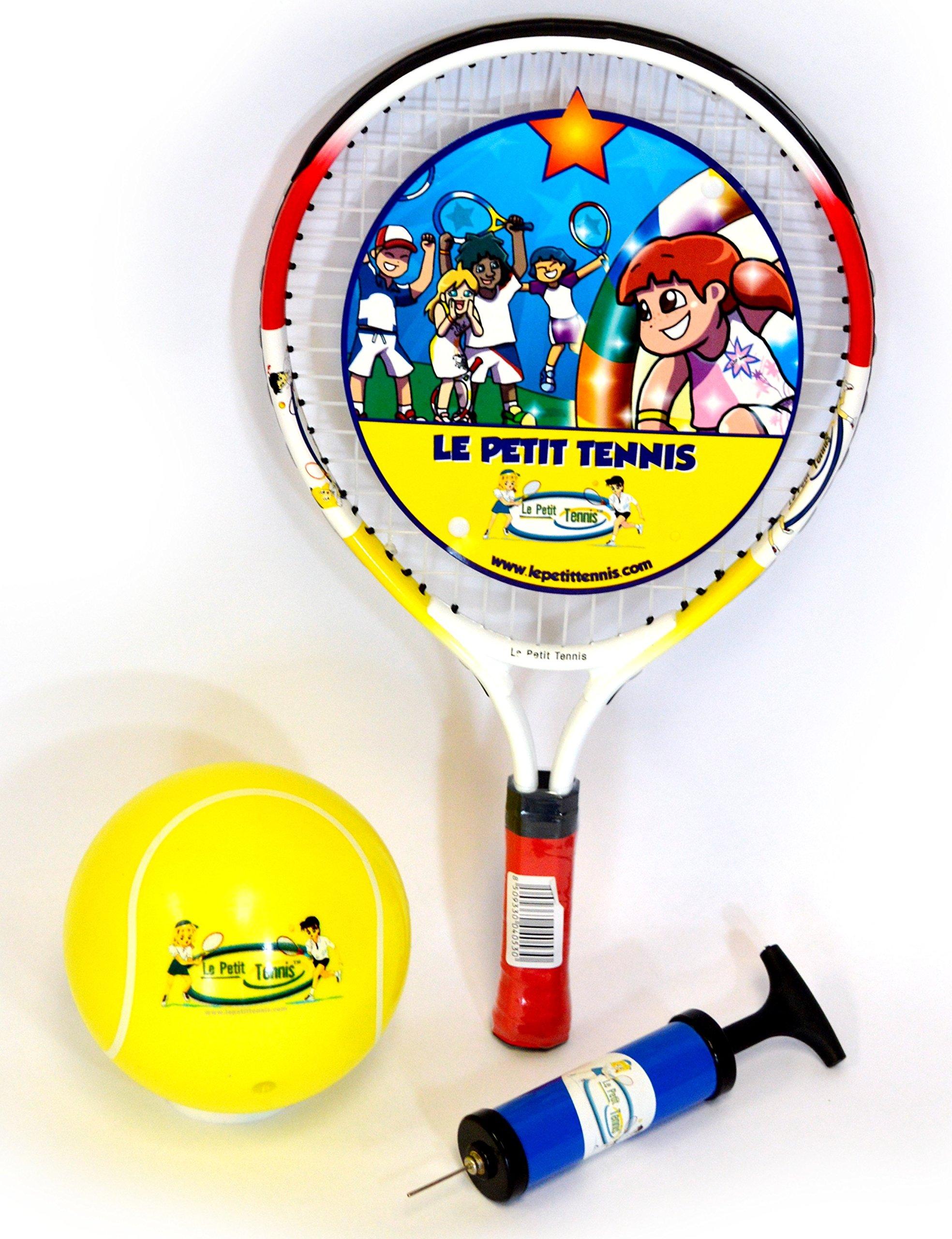 Le Petit Tennis Racquet 17 Inches + TENNIS BALL (Ages 2-3-4)