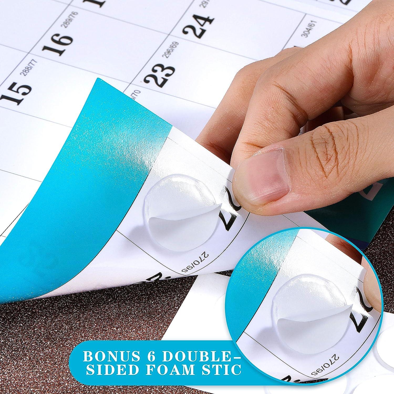 Calendario da parete annuale 2021 Eono by calendario cancellabile a secco 23x 34,5 agenda annuale annuale 12 mesi