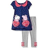 Peppa Pig Toddler Girls' 2-Piece Top and Legging Set