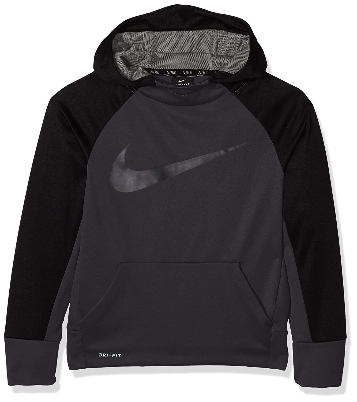 Nike B NK thrma Hoodie Po Sweat pour Enfant