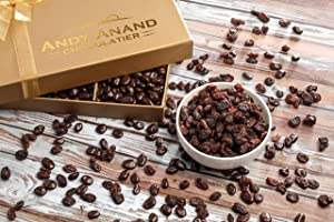 Andy Anand's California Milk Chocolate covered Raisins 1 LB, for Birthday, Valentine Day, Gourmet Christmas Holiday Food Gift Basket,Thanksgiving, Mothers Fathers Day, Get Well Basket for Men & Women