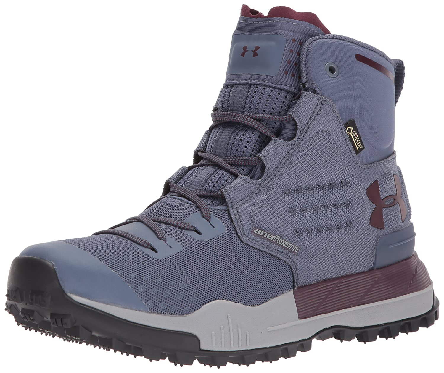 Under Armour Women's Newell Ridge Mid Gore-Tex Backpacking Boot B01MQY92CD 8 M US|Apollo Gray (962)/Steel