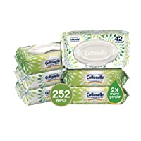 Deals on 6-Pack Cottonelle GentlePlus Flushable Wipes w/Aloe 42 Count