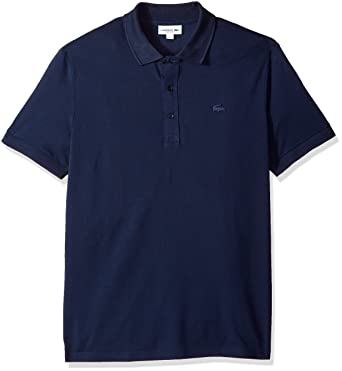 0800d645a79e Lacoste Men's Short Sleeve Ultra Light Pique Tonal Croc Reg Fit Polo,  PH6394 at Amazon Men's Clothing store: