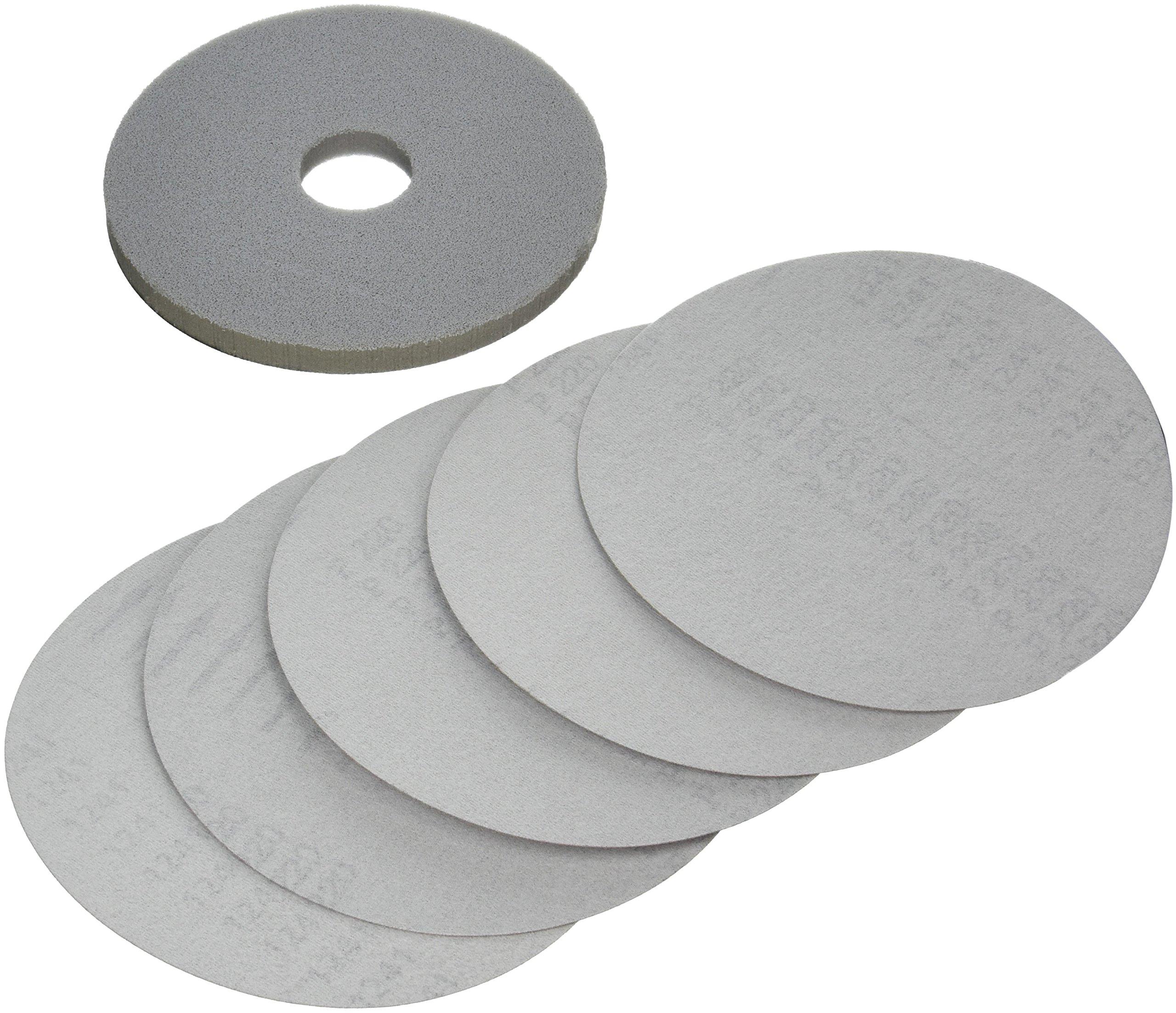 PORTER-CABLE 79220-5 220 Grit Hook & Loop Drywall Sander Pad & Discs (5-Pack)