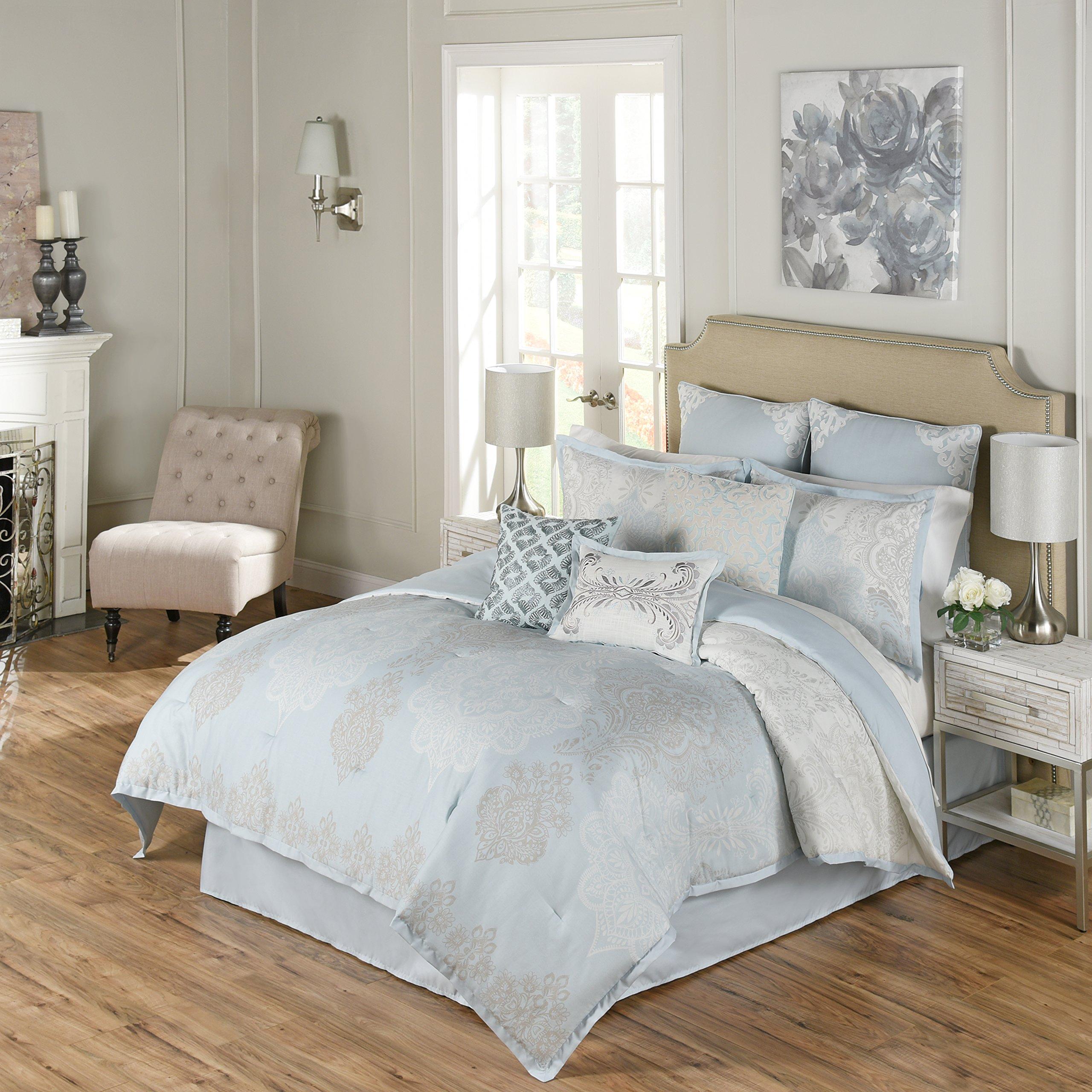 Beautyrest Arlee 4-Piece Comforter Set, King, Spa
