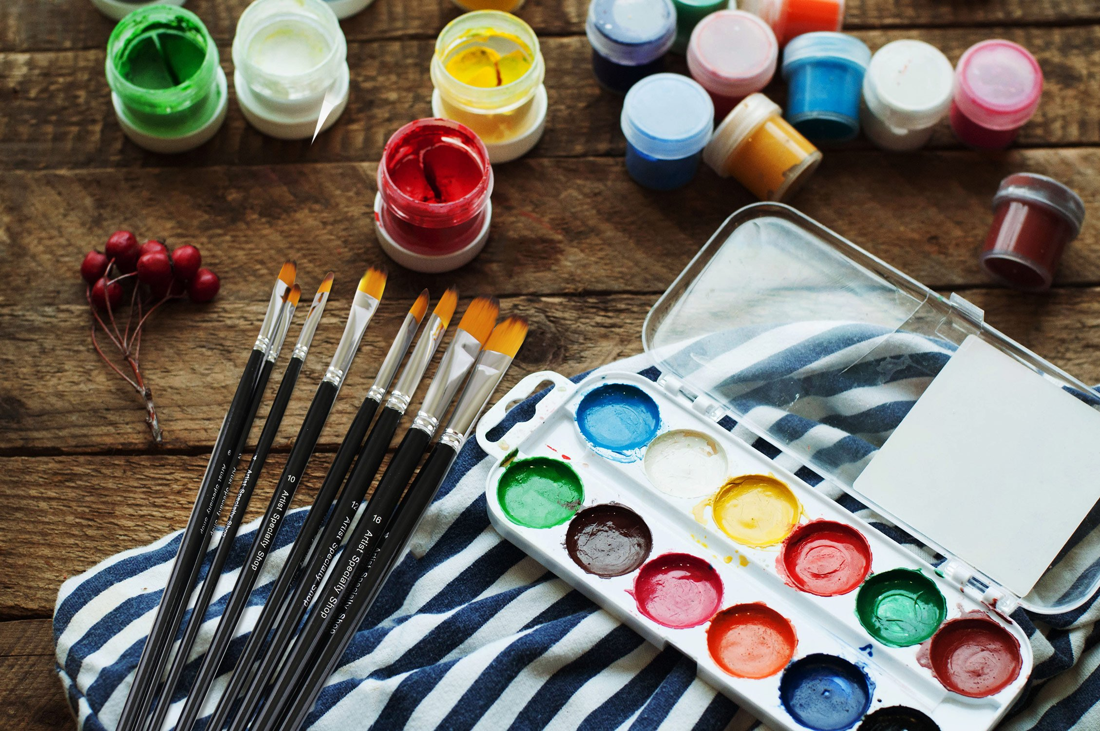 7 Of The Best Brushes For Acrylic Painting Architecture Lab