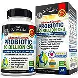 Probiotic 40 Billion CFU - Men & Womens Probiotic with Prebiotic - Lactobacillus Acidophilus Probiotic - Potent Until Expirat