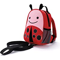 Skip Hop Zoo Let Mini Backpack with Rein, Lady Bug