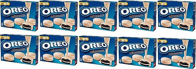Oreo bañadas en chocolate blanco [Pack de 10]: Amazon.es ...