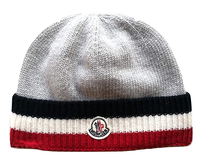 cd681f822b Moncler Junior Cappello Bambino Kids Boy MOD. 0014005 L: Amazon.it ...