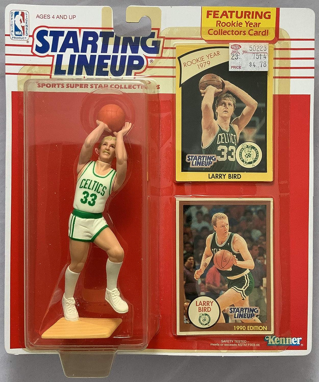 1990 KENNER STARTING LINEUP NBA LARRY BIRD BOSTON CELTICS MOC