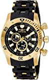 Invicta Analog Black Dial Men's Watch - 140