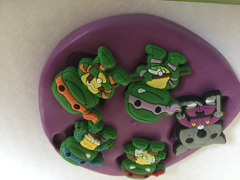 Molde de silicona para tortugas Ninja: Amazon.es: Hogar