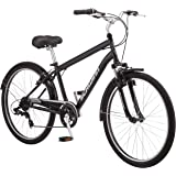 "Schwinn Suburban Men's Comfort Bike 26"" Wheels, 18"" Medium Frame Size, Black"