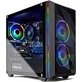 Skytech Chronos Mini Gaming PC Desktop - AMD Ryzen 3 3100, NVIDIA GTX 1650 Super 4GB, 8GB DDR4, 500GB SSD, A320 Motherboard,