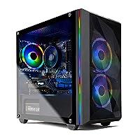 Skytech Chronos Mini Gaming PC Desktop - AMD Ryzen 3 3100, NVIDIA GTX 1650 Super 4GB, 8GB DDR4, 500GB SSD, A320 Motherboard, 550 Watt Bronze