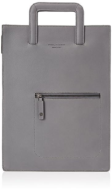 damen ac4099w86 piquadro grey handtasche grey f r wvqzqctxa. Black Bedroom Furniture Sets. Home Design Ideas