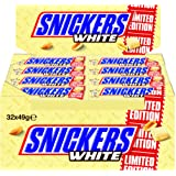 Snickers White 32 Riegel, 1er Pack (1 x 1568 g)