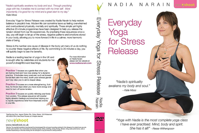 Amazon Com Everyday Yoga For Stress Release With Nadia Narain Nadia Narain Movies Tv
