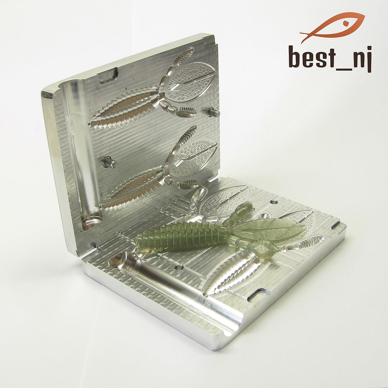 人気定番 ソフトプラスチック金型アルミニウム金型Rodent 4