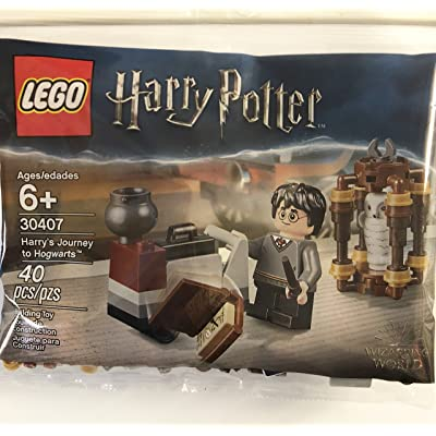 LEGO 30407 - Harry's Journey to Hogwarts Polybag: Toys & Games