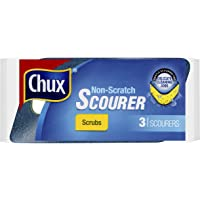 Chux Non Scratch Scourer Scrub, 3 count