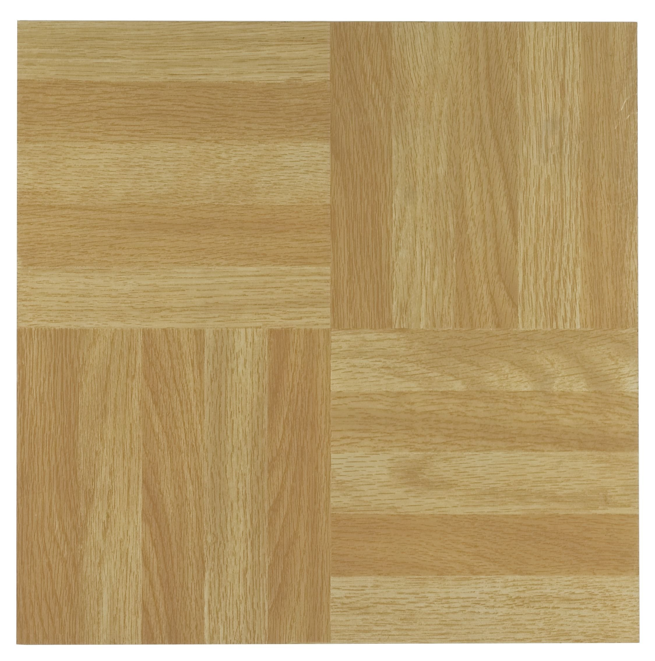 Achim Home Furnishings FTVWD20420 Nexus 12-Inch Vinyl Tile, Wood Four Finger Square Parquet, 20-Pack