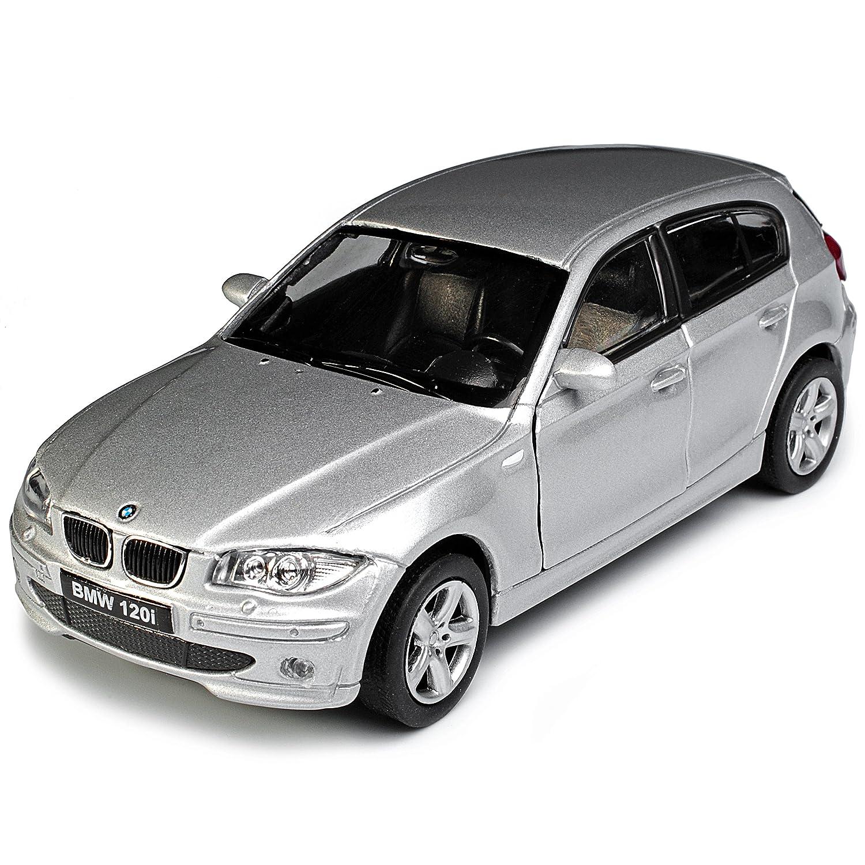 Generation 5 T/ürer Silber 2004-2013 ca 1//43 1//36-1//46 Welly Modell Auto mit individiuellem Wunschkennzeichen Unbekannt B-M-W 1er E87 1