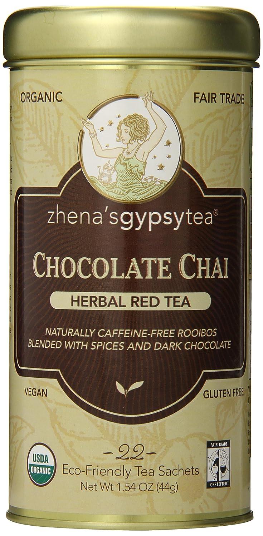 Amazon.com : Zhena's Gypsy Tea Chocolate Chai Tea ( 22 BAG ...