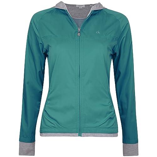 55% de descuento de Nueva Mujer Calvin Klein Soft Shell con capucha para hombre resistente al viento...